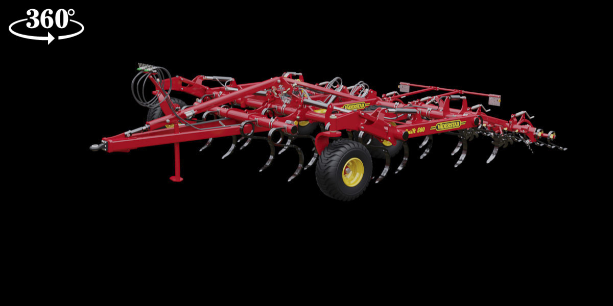 Swift - high performance tine cultivator for effective