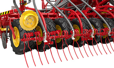 Slug pellets spreader plates for Rapid