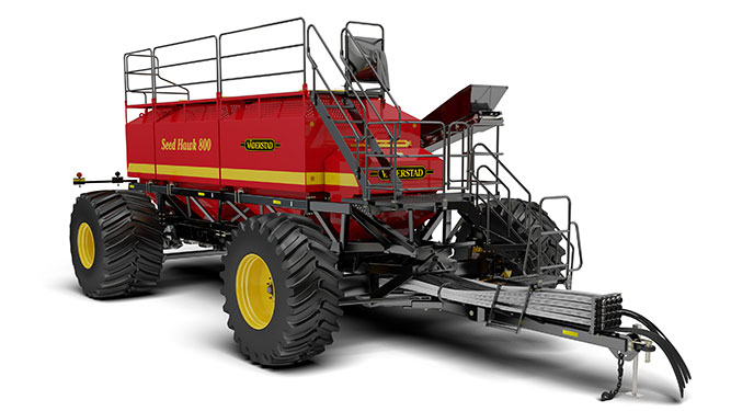 Seed Hawk 800 Air Cart rendering