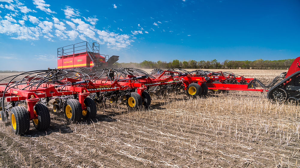 Seed Hawk Toolbar and Air Cart