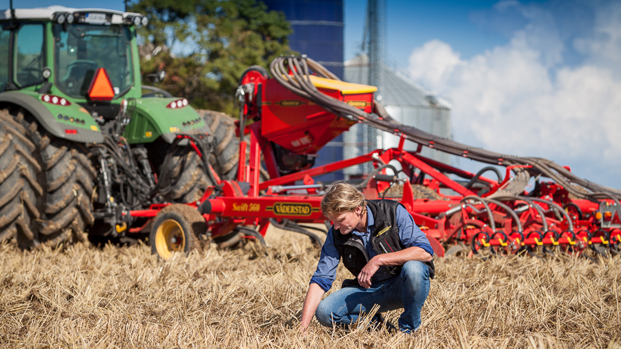 Väderstad Swift offers multiple operations in one pass with BioDrill