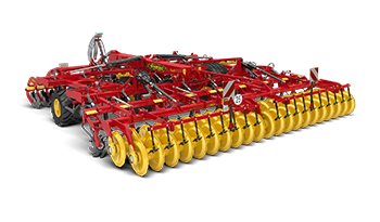 Väderstad combination cultivator TopDown