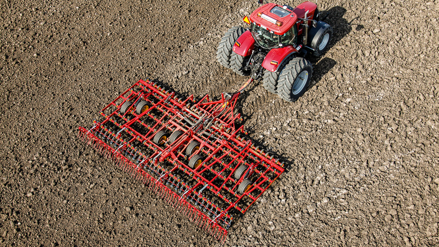Väderstad tine harrow NZ Aggressive