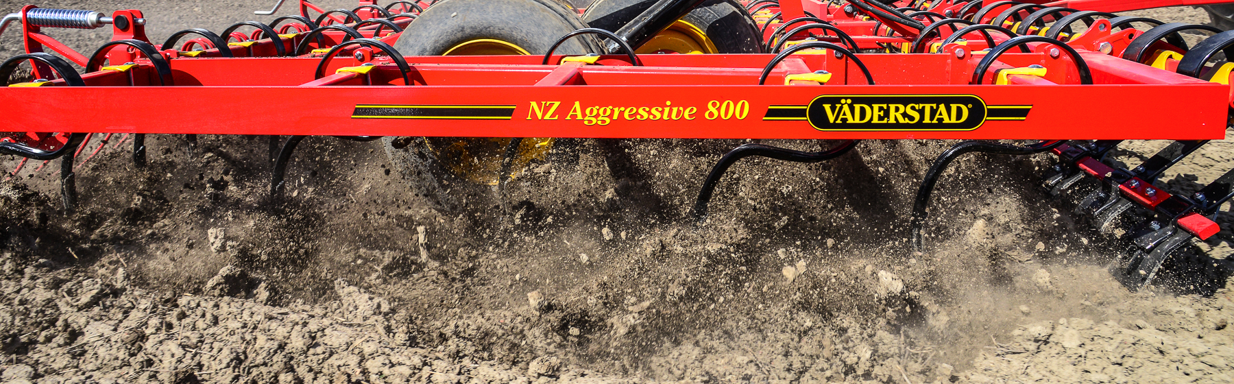 NZ Aggressive tines vibrating