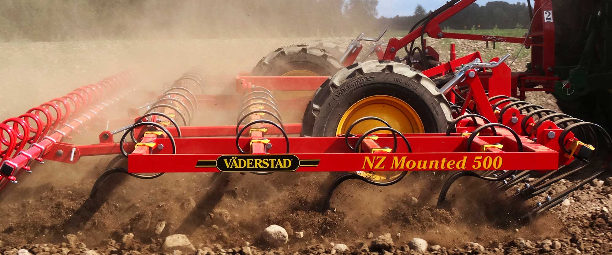 Väderstad harrow NZ Mounted 500